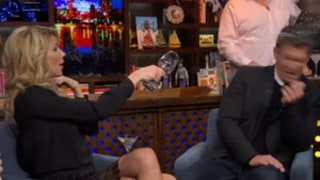 Brandi Glanville Tosses Wine on Jeff Lewis, Breaks Down in Tears During WWHL Appearance: Watch!