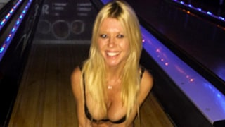 Tara Reid Goes Bowling in Her Bra to Recreate Big Lebowski Character Bunny: Pics
