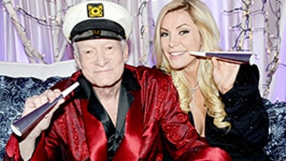 Celeb Sightings: Hugh and Crystal Hefner Celebrate 2 Years of Marriage