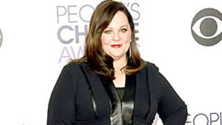 Melissa McCarthy Looks Slimmer in Chic Black Suit at the 2015 People's Choice Awards: See Her Body Transformation