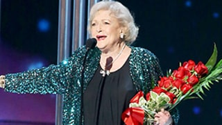 Chris Evans Escorts a Stunned Betty White on Stage at People's Choice Awards: Watch Sweet Moment Now!