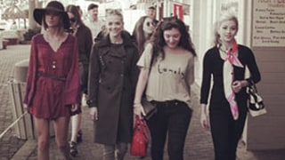 Taylor Swift Shows Off Legs in Catalina With Lorde, Jaime King, Gracie Gold: Photos