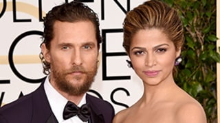 Matthew McConaughey Rocks Scruffy Beard, Camila Alves Debuts Blonder Locks at 2015 Golden Globes: Photo
