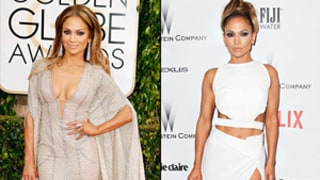 Jennifer Lopez Flashes More Skin in Golden Globes 2015 Afterparty Dress, But Which Was Her Sexiest Look of the Night?