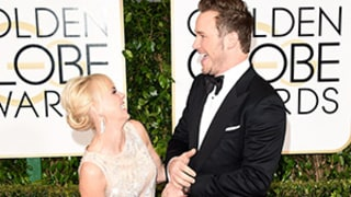 Chris Pratt and Anna Faris Were the Most Adorable Golden Globes Couple: Photos