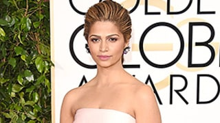 Golden Globes 2015 Red Carpet: Camila Alves, Jenna Dewan Tatum Reinvent the Crumb Catcher (aka That Boob Ruffle) at Golden Globes 2015: See the Trend!