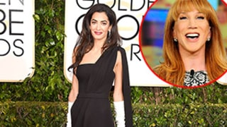 Kathy Griffin Slams Amal Alamuddin's Golden Globes Gloves, Says They Remind Her of