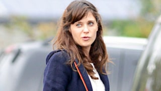Zooey Deschanel Steps Out, Conceals Bump With Coat Amid Pregnancy News