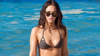 Megan Fox Wears Skimpy Bikini, Shows Off Crazy Flat Abs and Sexy