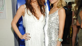 Nicole Richie and Lindsay Lohan