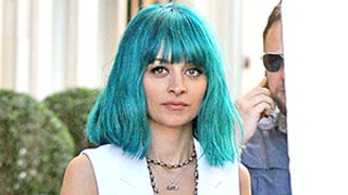 Nicole Richie Channels a Mermaid With Aquamarine Hair Color: See the Photos!