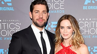 John Krasinski Crashes Emily Blunt's Speech at 2015 Critics' Choice Awards: Watch the Video!