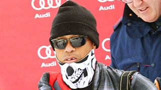 Tiger Woods Was Missing His Front Tooth as He Surprised Girlfriend Lindsey Vonn at Race
