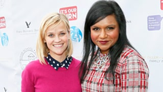 Mindy Kaling Gives Reese Witherspoon An Oscar-Themed