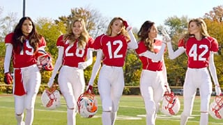 Victoria's Secret Angels Play Football in Sexy Super Bowl Ad: See the Commercial Here!