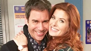 Debra Messing, Eric McCormack Have Adorable Will & Grace Reunion: See the Sweet Pictures!