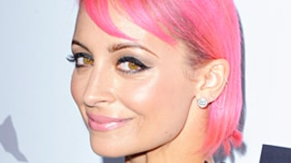 Nicole Richie's Latest Hair Color Is Bubblegum Pink: See the Photos Here!