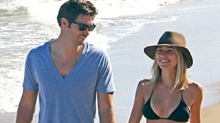 Kristin Cavallari Looks Perfectly Toned in Black Bikini Amidst News She Thinks She's Too Skinny -- See Her and Jay Cutler's Beach Bods