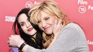 Frances Bean Cobain Hugs Mom Courtney Love at Kurt Cobain Sundance Documentary Screening: Pictures