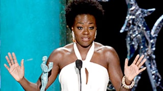 Viola Davis Wins SAG Award, Thanks Producers for Casting a