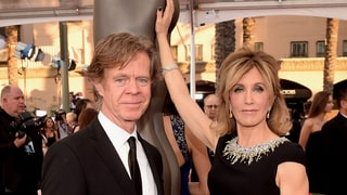 William H. Macy, Felicity Huffman Bring Sexy PDA to the SAGs, Read Her Sexy Tweet