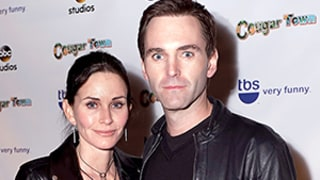 Cougar Town Series Finale Wrap Party: Courteney Cox, Fiance Johnny McDaid Party With David Arquette