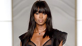 Naomi Campbell, 44, Works Her Slim Body, Flawless Stems in Lingerie on the Runway: See the Photos!