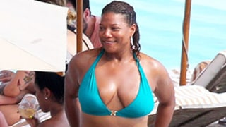 Queen Latifah Shows Off Her Curves in a Bikini, Gets Her Dance Party On: Pictures