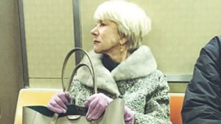 Helen Mirren Rides the Subway in New York City, Has Perfect Posture: See the Epic Picture!