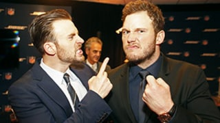 Chris Evans Wins Super Bowl Bet With Chris Pratt -- Find Out What Pratt Has to Do Now!