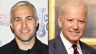 Pete Wentz's Baby Photo With Joe Biden Unearthed by Fans Who Thank VP for Fall Out Boy