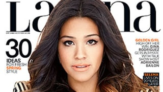Gina Rodriguez Goes Braless on the Cover of Latina: See Her Hot Fashion Spread