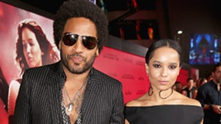 Zoe Kravitz Has a Funny Response to Katy Perry Grinding on Her Dad Lenny Kravitz at the Super Bowl: See the Meme!