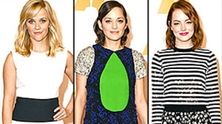 Reese Witherspoon, Emma Stone, and More Oscar Nominees Celebrate at Annual Lunch -- But Who Was the Best Dressed?