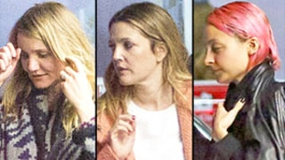 Cameron Diaz Has Girls' Night Out With Drew Barrymore, Gwyneth Paltrow, Nicole Richie After Wedding: Photos