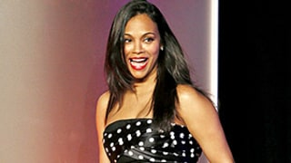 Zoe Saldana Looks Radiant at First Official Appearance Two Months After Giving Birth: See Her Glam Post-Baby Body Style!