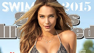 Hannah Davis Yanks Her Bikini Bottoms Way Down on the 2015 Sports Illustrated Swimsuit Issue Cover: Your Reaction Is…