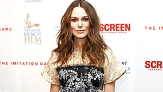 Keira Knightley Works Big Baby Bump on the Red Carpet in Feminine Dress: See Her Glam Maternity Style!