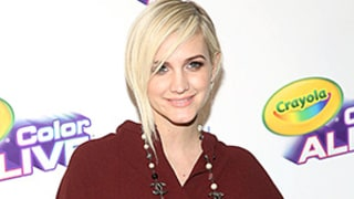 Pregnant Ashlee Simpson Covers Baby Bump in Loose Top on the Red Carpet With Husband Evan Ross, Son Bronx: See Her Edgy Maternity Style!