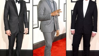 Grammys 2015 Red Carpet: Men in Tuxes