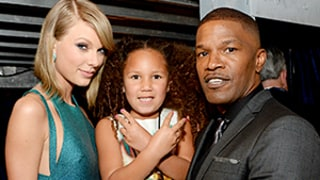 Jamie Foxx's Daughter Annalise Meets Taylor Swift, Madonna, Jay Z, and More at 2015 Grammys: Photos