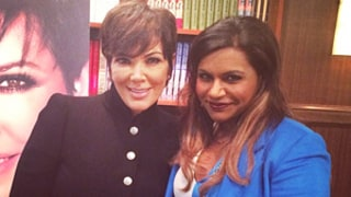 Kris Jenner Will Make Cameo on The Mindy Project: Set Photo