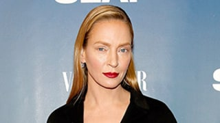 Uma Thurman Looks Unrecognizable, Wears Minimal Makeup on Red Carpet