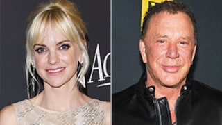 Anna Faris and Chris Pratt's Baby Was Once Shushed by Mickey Rourke: Watch!