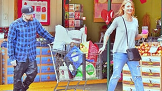 Cameron Diaz, Benji Madden Look Happier Than Ever Grocery Shopping -- See the Sweet Snap!