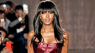 Naomi Campbell Ignites the Runway in Pink Metallic Ball Gown: See Photos of Her Graceful Strut