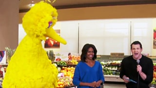 Michelle Obama Plays Funny Games With Big Bird, Billy Eichner on Billy on the Street: Watch