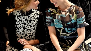Olivia Palermo and Dianna Agron