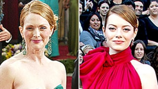 Oscar Nominees Julianne Moore, Emma Stone: See Their Best Academy Awards Looks