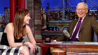 Dakota Johnson Makes David Letterman Blush Over Mom Melanie Griffith -- Find Out Why Here!